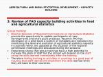agricultural and rural statistical development capacity building10