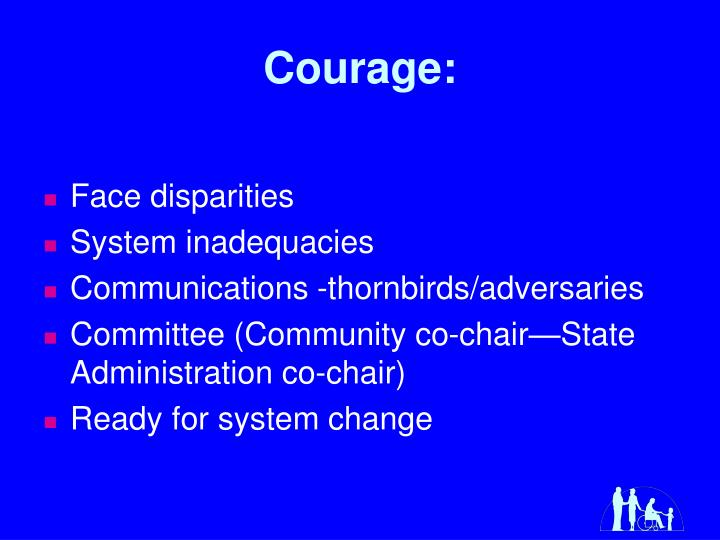 Courage: