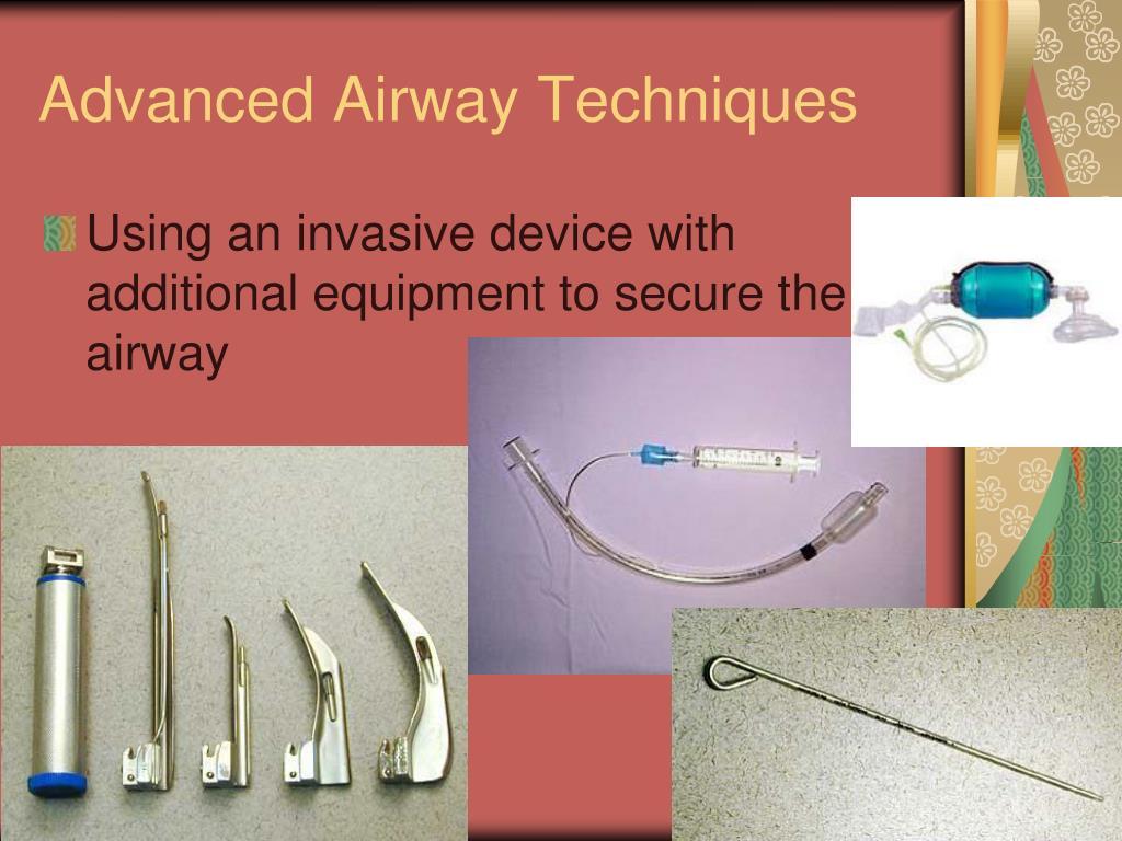 Advanced Airway Techniques
