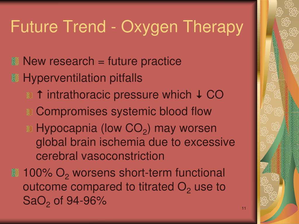 Future Trend - Oxygen Therapy