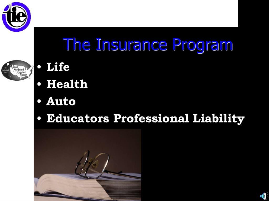 The Insurance Program