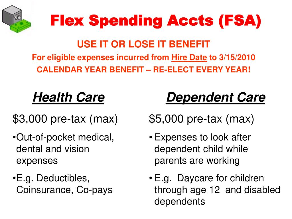 Flex Spending Accts (FSA)