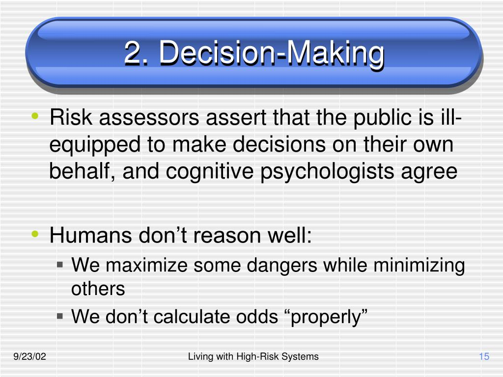 2. Decision-Making