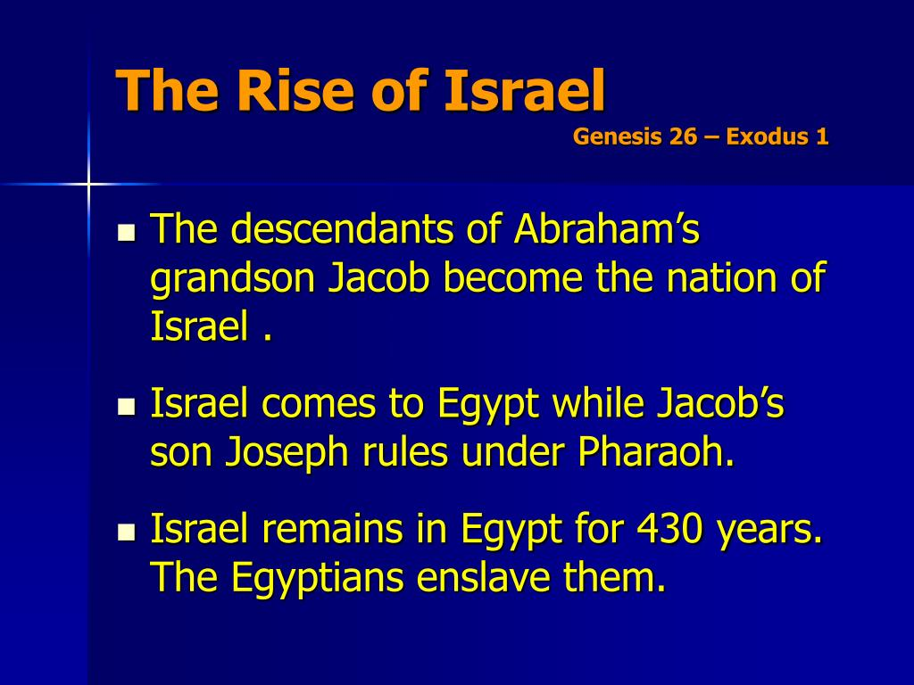 The Rise of Israel