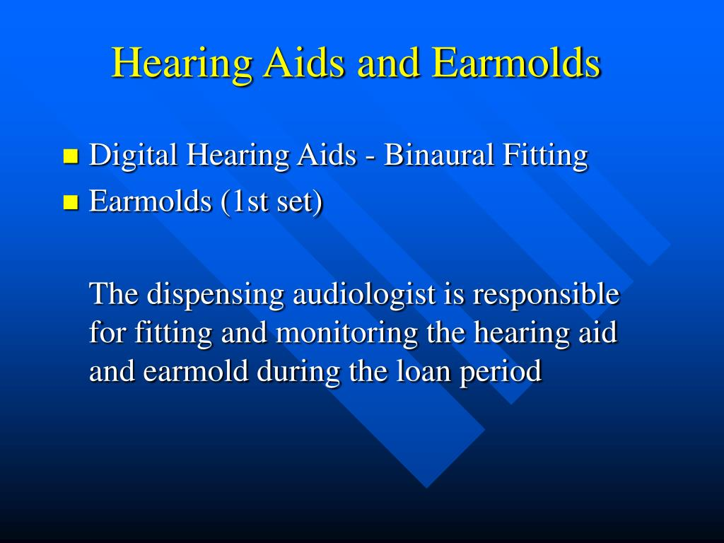 Hearing Aids and Earmolds
