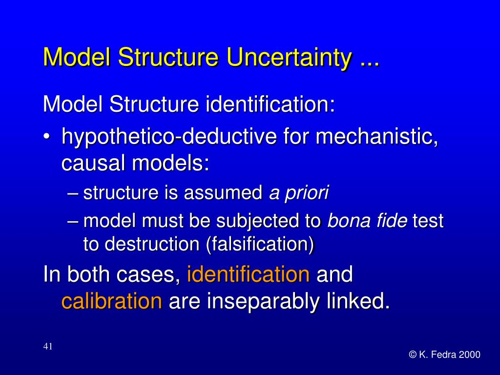 Model Structure Uncertainty ...