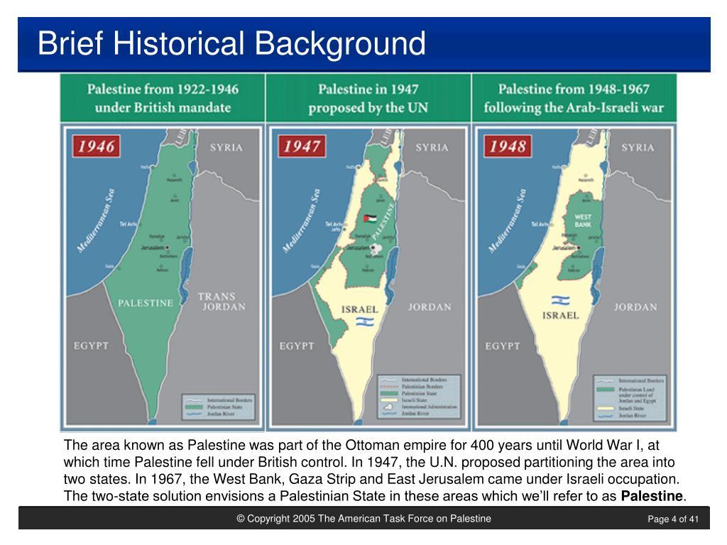 Brief Historical Background