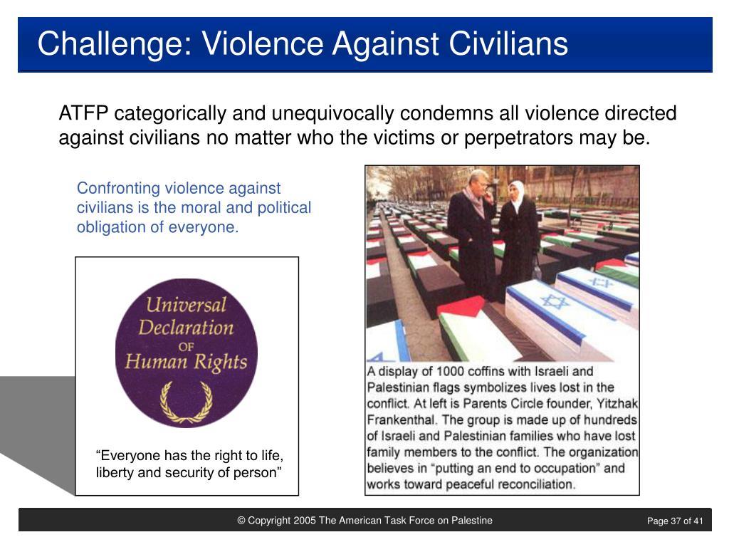 Challenge: Violence Against Civilians