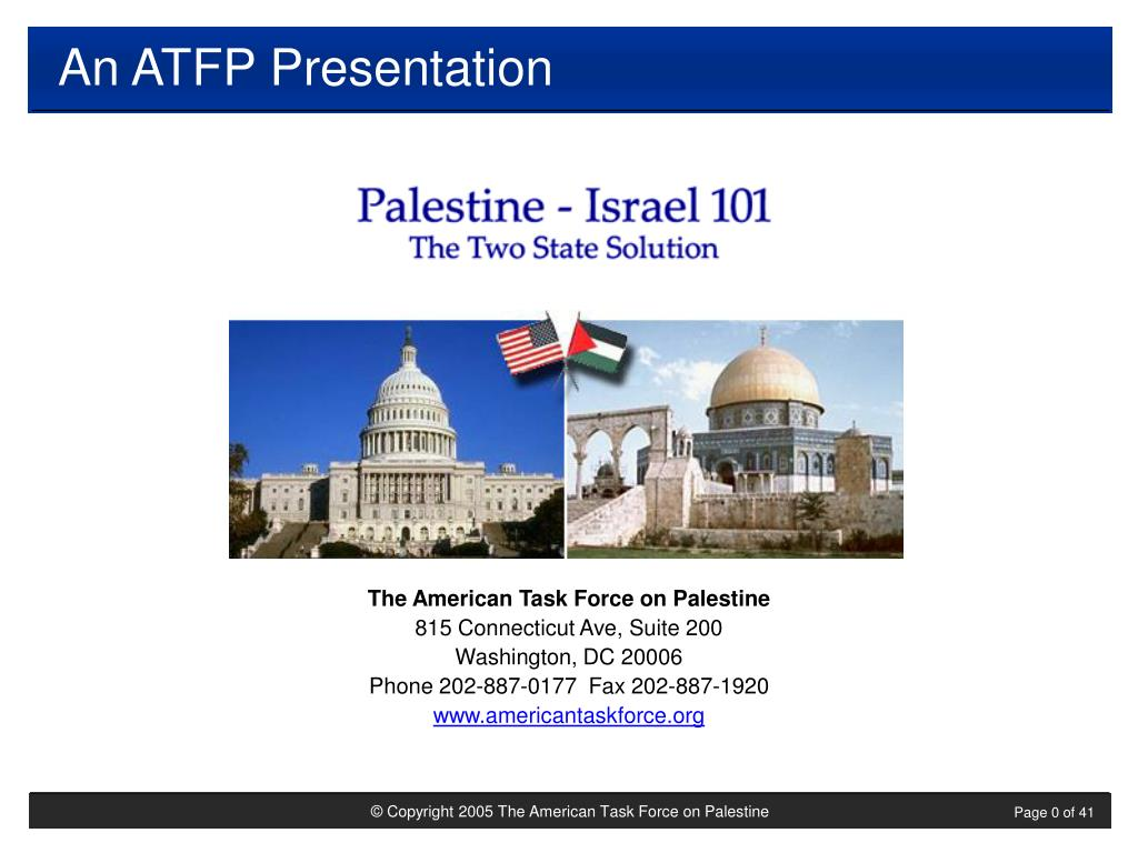An ATFP Presentation
