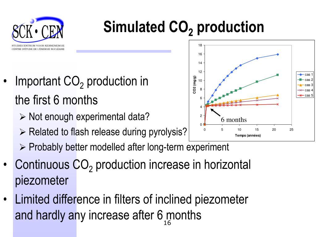 Simulated CO