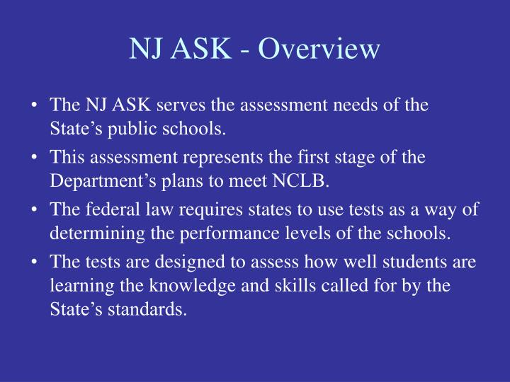Nj ask overview