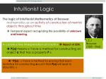 intuitionist logic