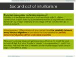 second act of intuitionism28