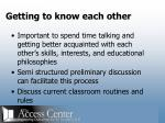 getting to know each other16
