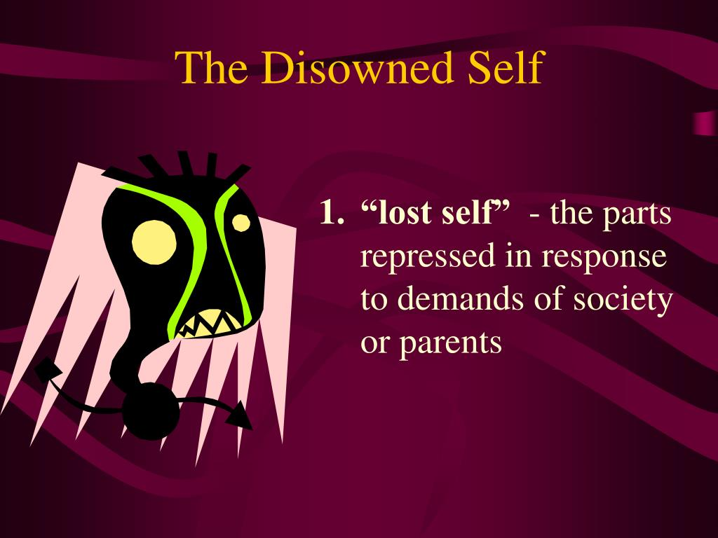 The Disowned Self