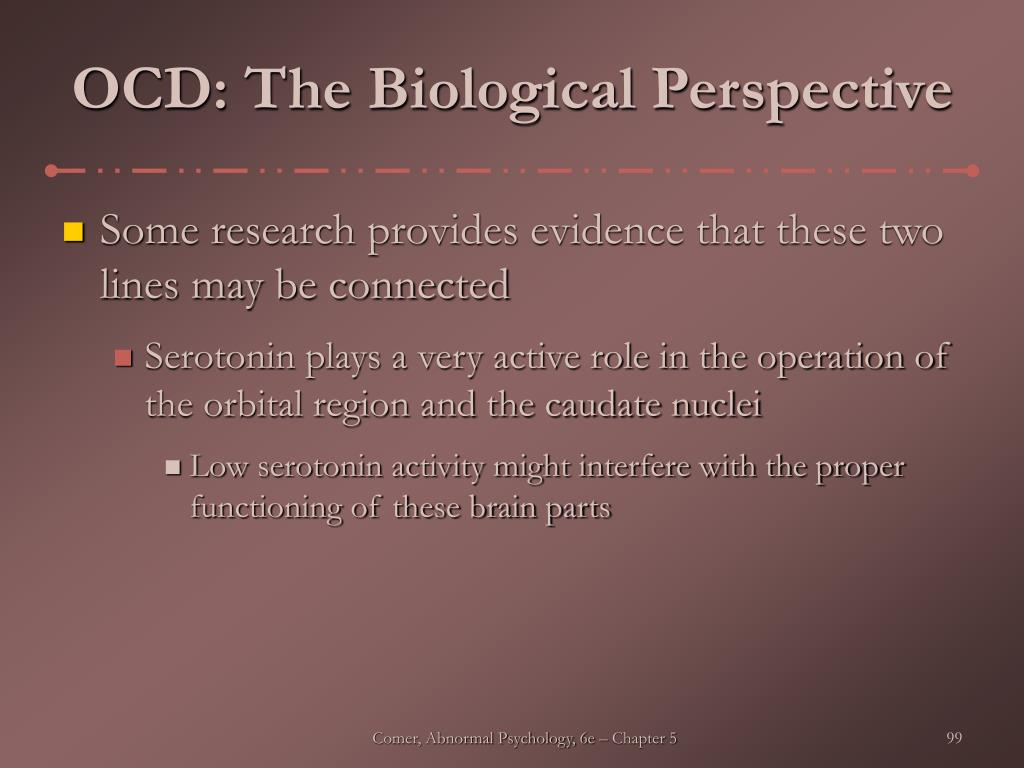OCD: The Biological Perspective