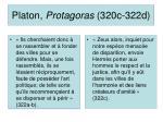 platon protagoras 320c 322d