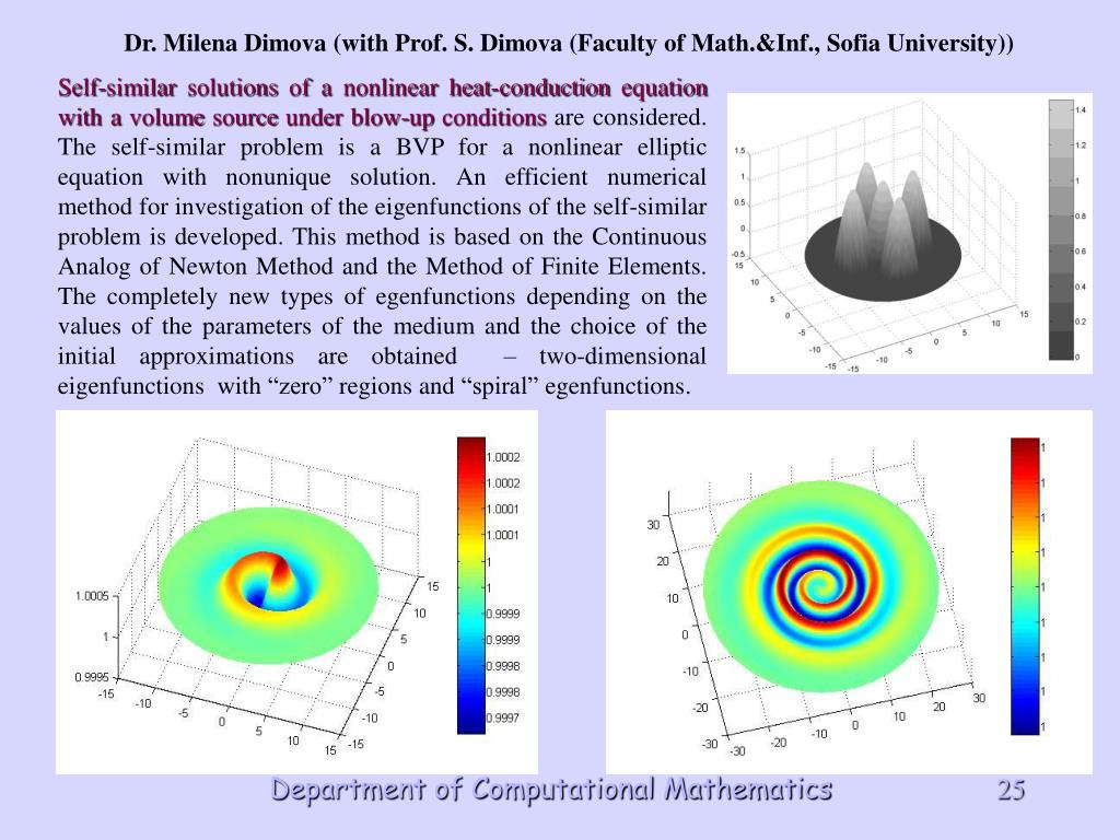 Self-similar solutions of a nonlinear heat-conduction equation with a volume source under blow-up conditions