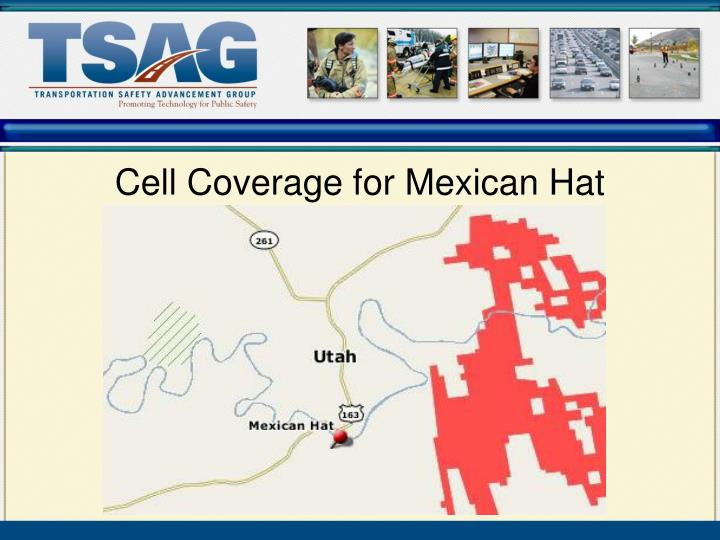 Cell Coverage for Mexican Hat