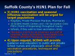 suffolk county s h1n1 plan for fall36