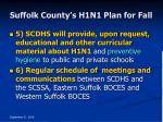 suffolk county s h1n1 plan for fall37