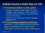 suffolk county s h1n1 plan for fall38