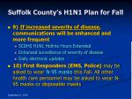suffolk county s h1n1 plan for fall39