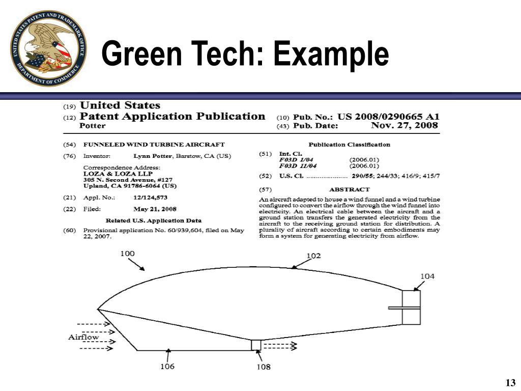 Green Tech: Example