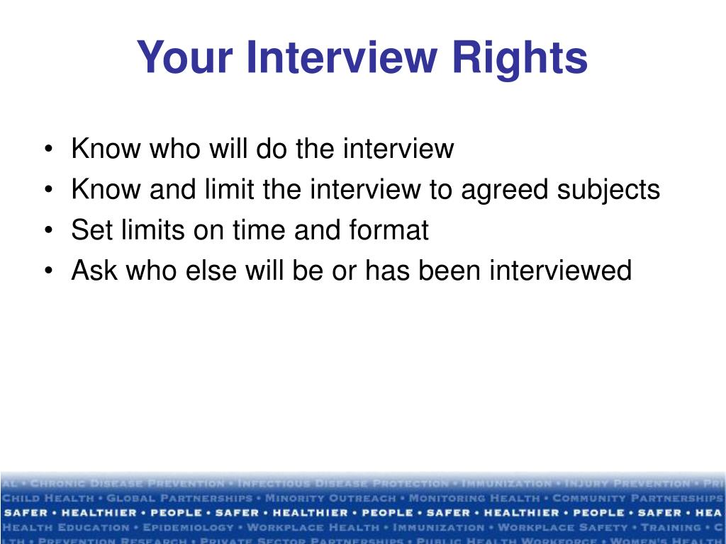Your Interview Rights