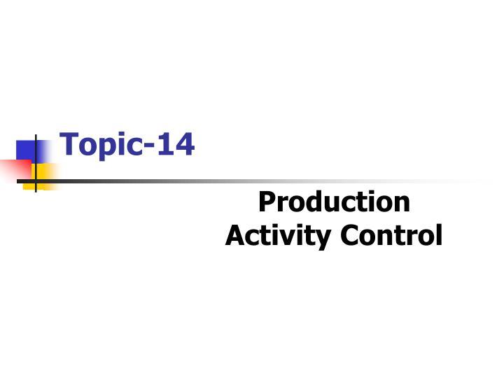 Topic 14