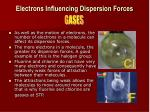 electrons influencing dispersion forces