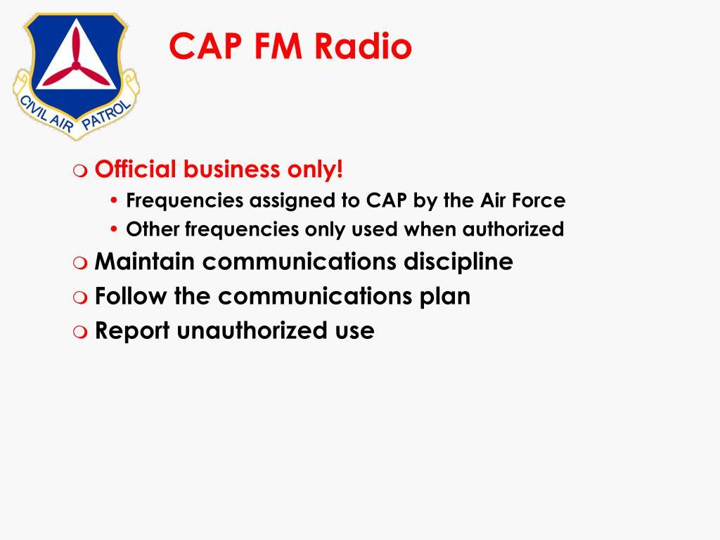CAP FM Radio