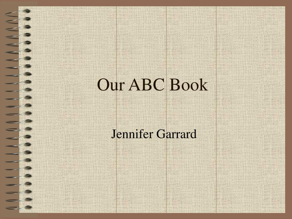 our abc book l.