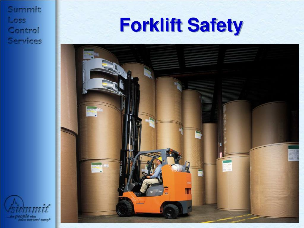 Ppt Forklift Safety Powerpoint Presentation Free Download Id 267311