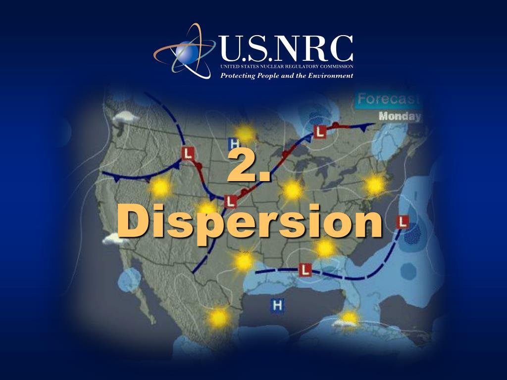 2 dispersion l.