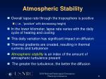 atmospheric stability11