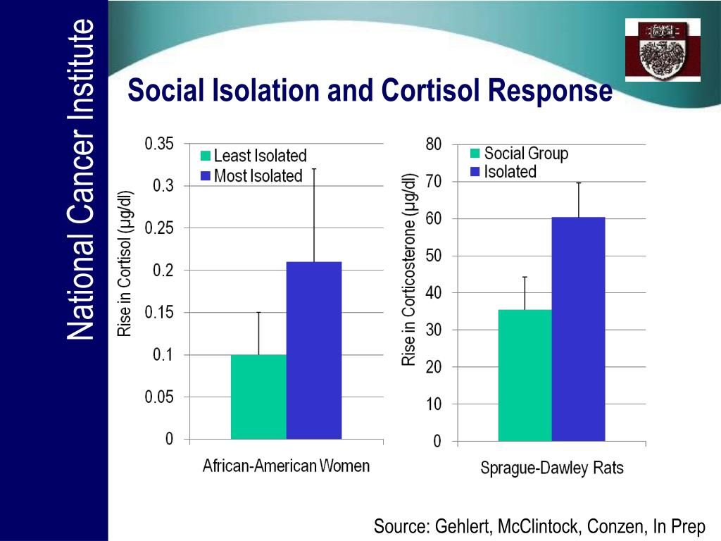 Social Isolation and Cortisol Response
