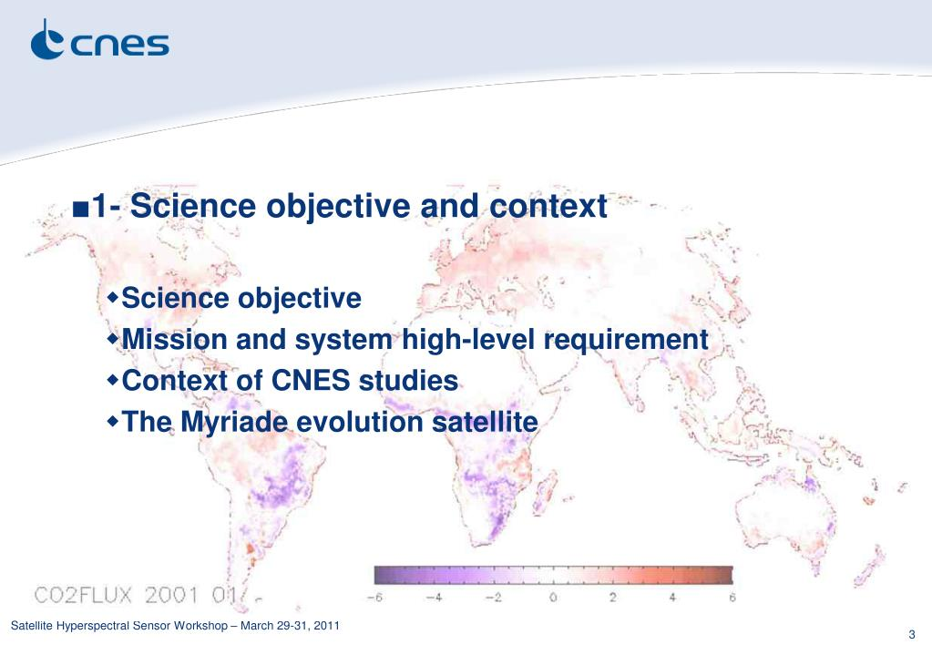 1- Science objective and context