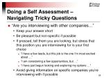 doing a self assessment navigating tricky questions28