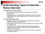 understanding types of interview stress interview42