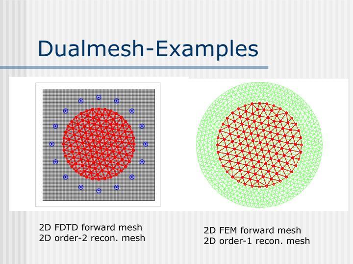 Dualmesh-Examples
