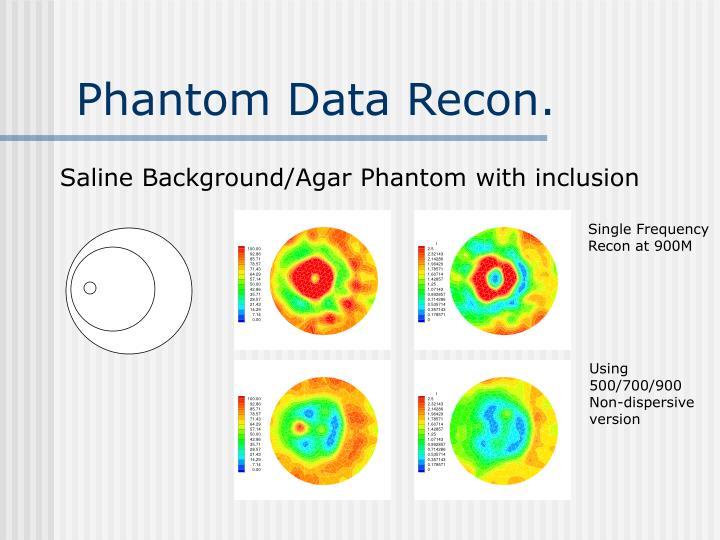 Phantom Data Recon.