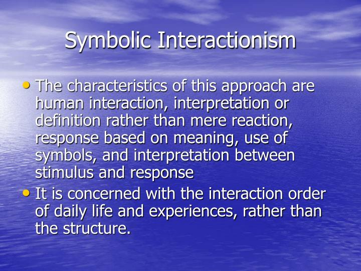 Ppt George Herbert Meads Symbolic Interactionism Powerpoint