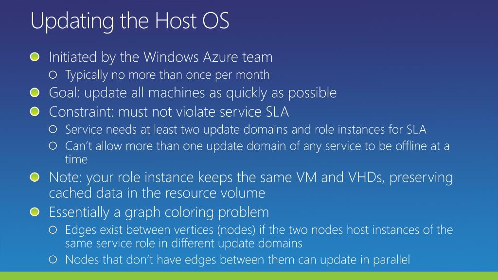 Updating the Host OS
