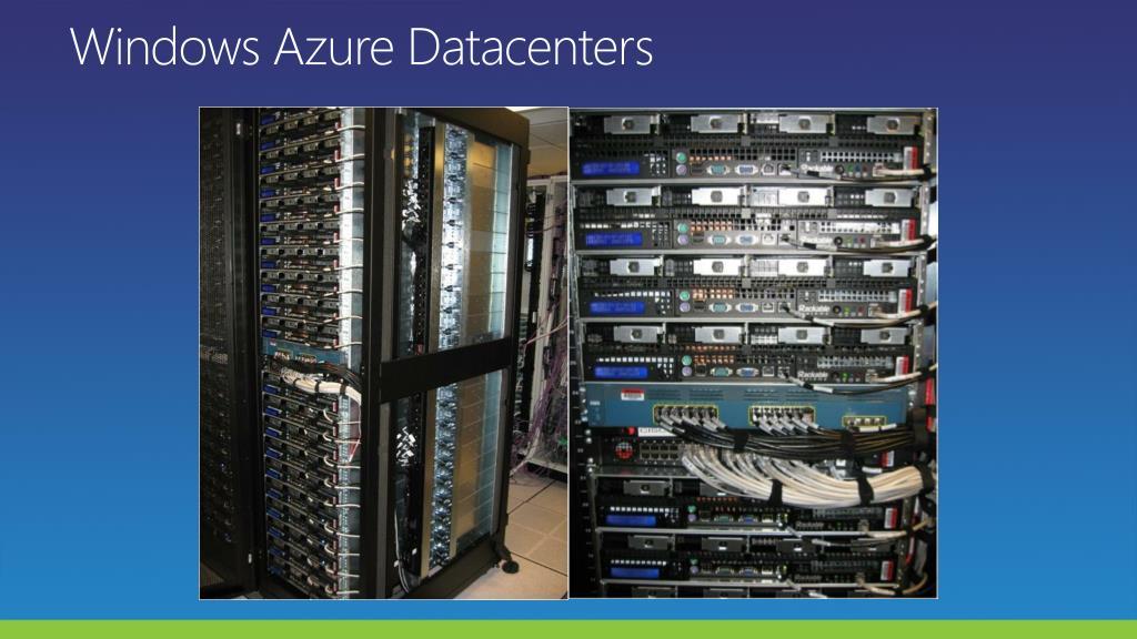 Windows Azure Datacenters
