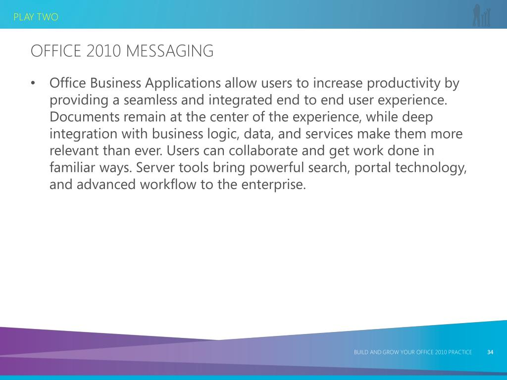 Office 2010 Messaging
