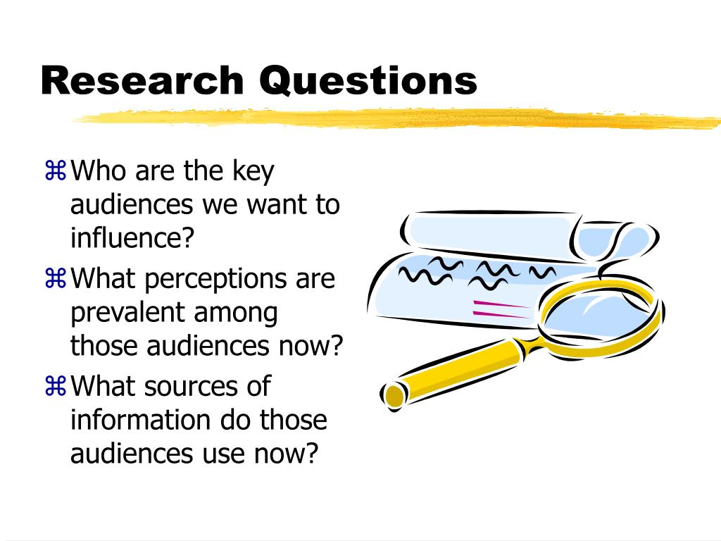 Who are the key audiences we want to influence?