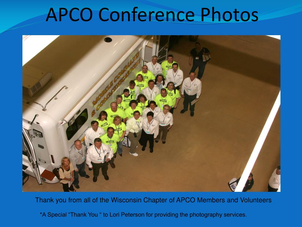 APCO Conference Photos