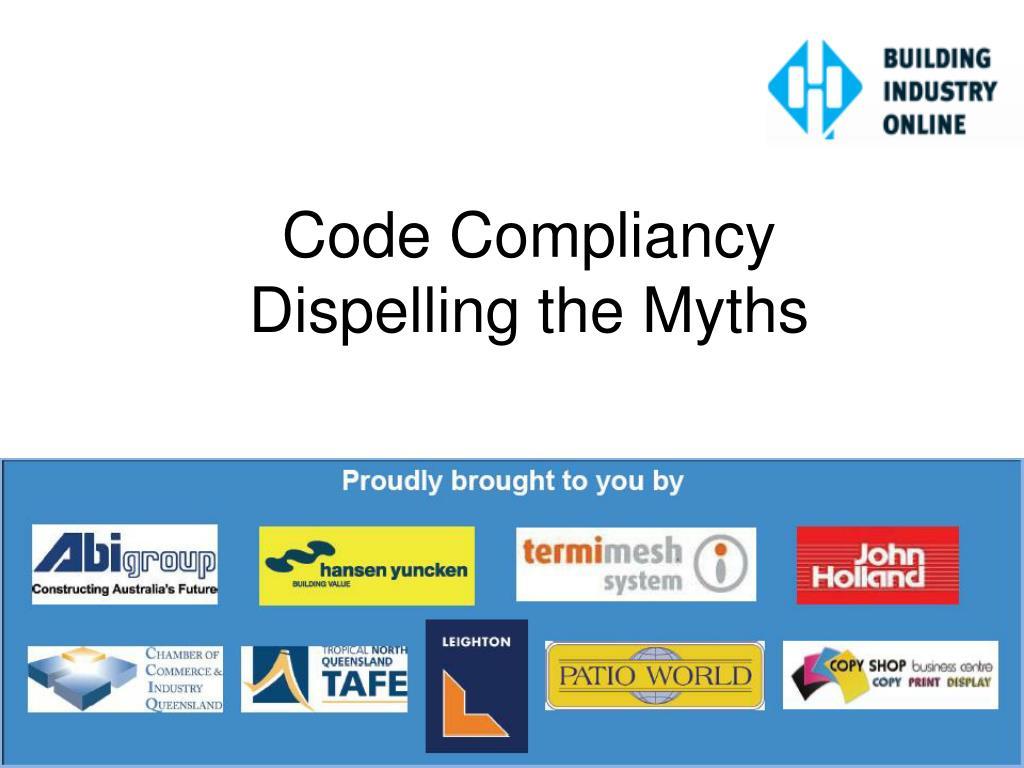 Code Compliancy