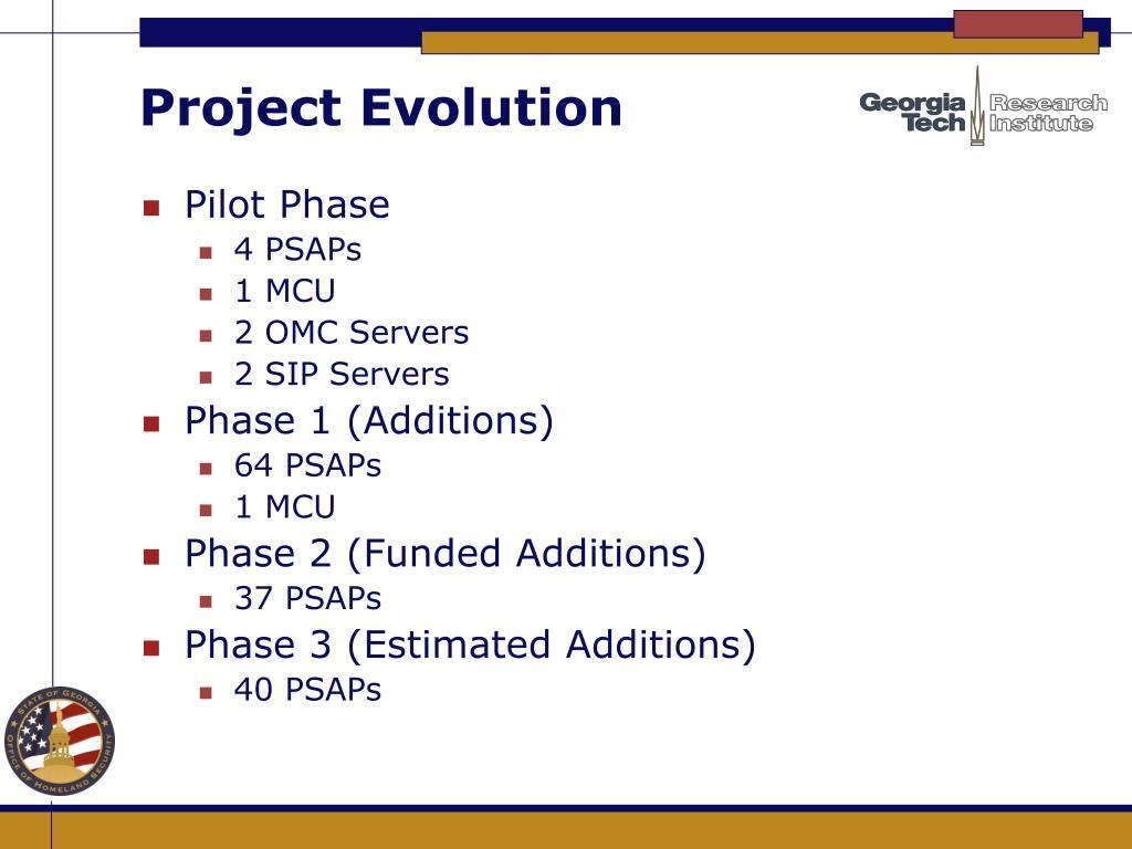 Project Evolution